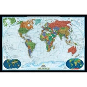 National Geographic World Decorator - Tubed Map (NGS536)