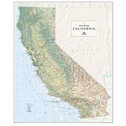 National Geographic Map Of California Wall Map - Tubed (NGS564)