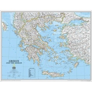 National Geographic Map Of Greece - Laminated (NGS598)