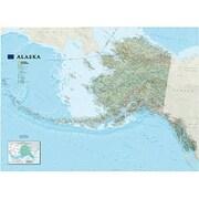 National Geographic Maps Alaska Wall Map - Tubed (NAGGR368)