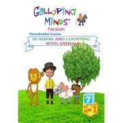 Galloping Minds Counting Preschooler Learns Numbers And Counting With Animals Dvd (GLLM005)