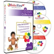 BabyFirstTV 3 DVD Collection Set 1 - Includes: Vocabulary Seeds Numerical Concepts Cognitive Beginnings (BFTV007)