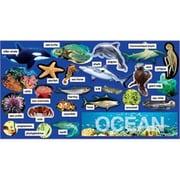 Teachers Friend Ocean Plants & Animals Mini Bulletin Board Set- Gr Pk-5 (EDRE32836)