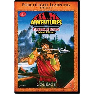 Rising Star Education 9781936086085 Adventures from the Book of Virtues- Vol. 2 - Courage- DVD (RSNGSTAR035)