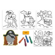 Edushape Tub Art - Pirate Set Creative Bath Toy (EDUS473)
