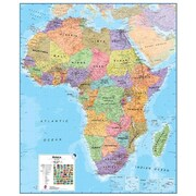 Maps International Africa 1 to 8 Laminated Wall Map (WPGR043)