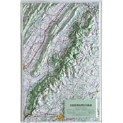 Hubbard Scientific Raised Relief Map Shenandoah National Park (AMED1965)