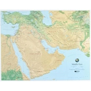 Hubbard Scientific Raised Relief Map Middle East (AMED1929)