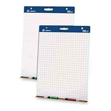 Adams Business Forms Easel Pads- w-Carry Handle- 1in. Lined- 50 SH-PD- 2 PD-CT- White (SPRCH20639)