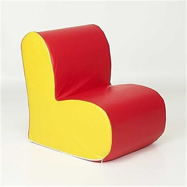 Foamnasium Cloud Chair - Red face or Yellow side (FMFCT037)