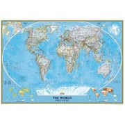 National Geographic World Classic Map - Laminated (NGS630)