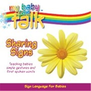 Baby Hands My Baby Can Talk - Sharing Signs Board Book (BBYH005)