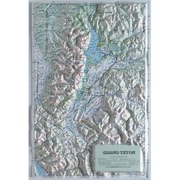 Hubbard Scientific Raised Relief Map Grand Teton National Park (AMED1911)