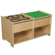 Wood Designs Build-N-Play Table With Racetrack (WDMI746)