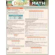 BarCharts Discrete Mathematics Quickstudy Easel (BARCH4363)