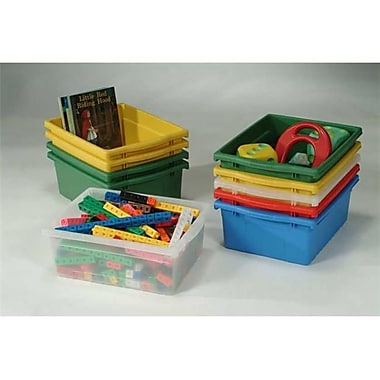 Copernicus Educational Products Open Tub Pack - Blue, Green, Red, Yellow (CPRNRTL0495)