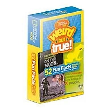 That Company Called If National Geographic 52 Fun Facts Playing Cards - Weird But True (IFUS433)