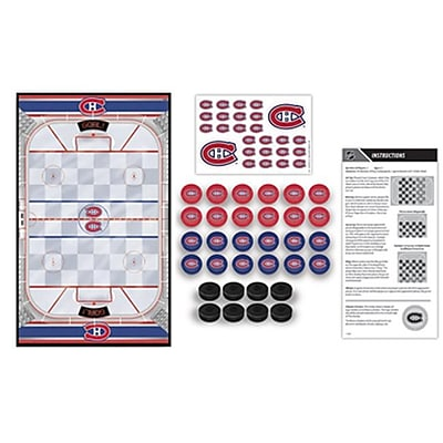 Masterpieces Montreal Canadiens Checkers Puzzle (RTL236572) 2517314