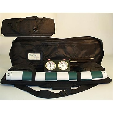 CNChess Black Padded Canvas Chess Tote (WWI092)