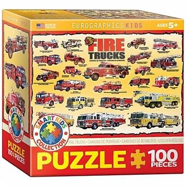 Euro Graphics Vintage Fire Engines Puzzle (EUGR761)