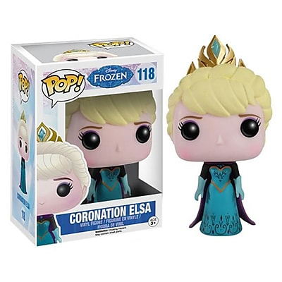 Funko, LLC 4832 Pop Frozen - Coronation Elsa (ACDD14373) 2511721