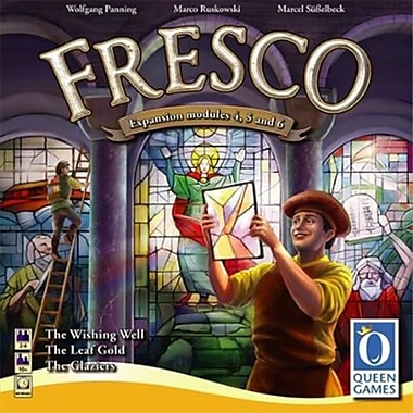 Queen Games 60811 Fresco The Glaziers Expansion International Board Game (ACDD9455)