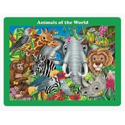 Learning Journey 48 pc Lift & Discover Jigsaw Puzzle-Animals of the World (LJI083)