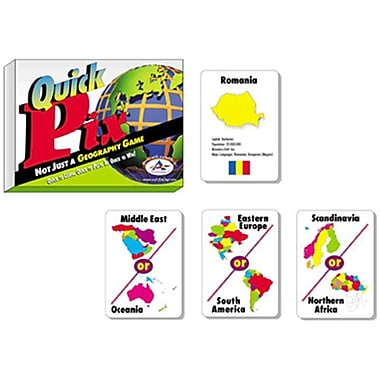 Talicor Quick Pix Geography Card Games (TAL2003)