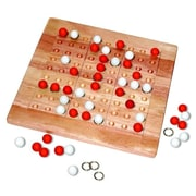 Mad Cave Games Tic-Tac-Ku Solid Wood Game Rred And White (MDCV005)