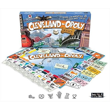 Late for the Sky Cleveland-Opoly Board Game (LTSY052)