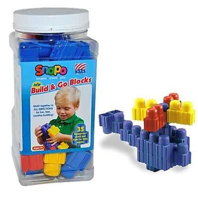 Snapo Build & GO-35 Big Building Blocks,