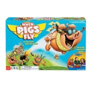 POOF-Slinky Ideal When Pigs Fly Game with Spinning Electronic Base and Overhead Cloud Cone (POOF204)