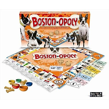 Late for the Sky Boston Terrier-Opoly Board Game (LTSY102)