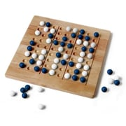 Mad Cave Games Tic-Tac-Ku Solid Wood Game Blue And White (MDCV006)