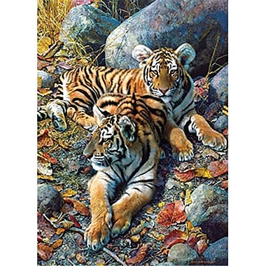 Masterpieces Carl Brenders Bengal Tiger Puzzle, 1000 Pieces (RTL236114)