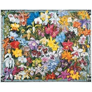 White Mountain Puzzles Orchids Puzzle (GC4594)