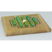 Square Root Wood Puzzles - IQ Solitaire) (WWI373)