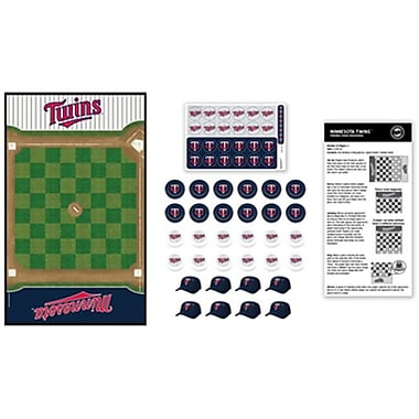 Masterpieces Minnesota Twins Checkers Puzzle (RTL236545)
