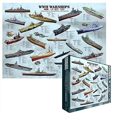 EuroGraphics WWII War Ships Puzzle (EUGR016)
