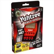 Hasbro A2125 Electronic Hand Held Yahtzee, Board Games (ACDD5211)