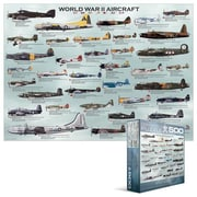 EuroGraphics World War II Aircraft 500-Piece Puzzle (Small Box) (EUGR330)