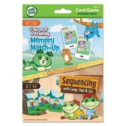 Leap Frog Card Game Double Pack - Memory Match Up -Sequencing (USBDU19414AA24)
