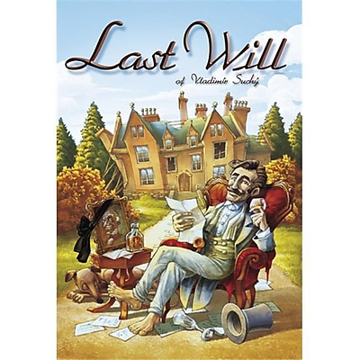 Czech Games Edition Inc 00016 Last Will (ACDD14517) 2517319