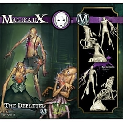 Wyrd Miniatures 20418 Neverborn The Depleted - 3 M2E (ACDD13314) 2512572
