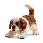 Schleich 16834 Saint Bernard Puppy Figurine, Brown & White (TRVAL42280)