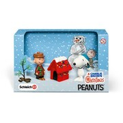 Schleich 22017 Charlie Brown Christmas Scenery Pack, Brown (TRVAL42316)