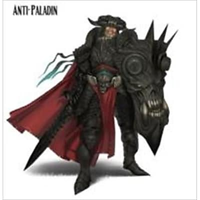 Reaper Miniatures 60103 Pathfinder Series Mini Anti Paladin Miniature (ACDD10624) 2512472
