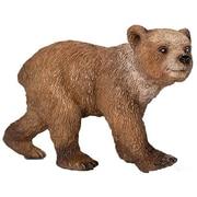 Schleich 14687 Grizzly Bear Cub Figurine, Brown (TRVAL42373)