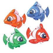 Rhode Island Novelties Inflatable Tropical Fish Various - color may vary (BSEA12361)