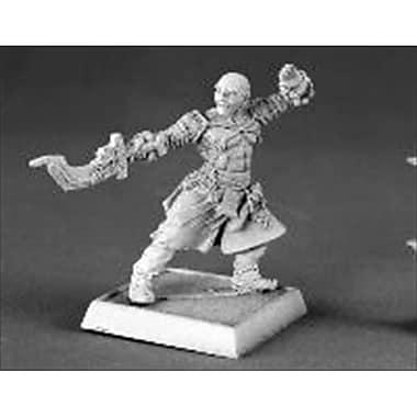 Reaper Miniatures 60016 Pathfinder Series Sajan, Iconic Male Monk Miniature (ACDD10542)